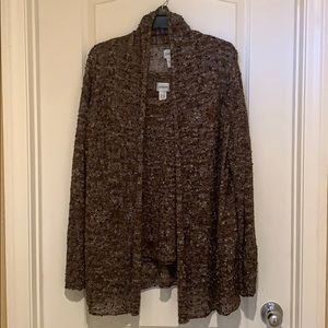 2-piece Sz 1 Chico's Women's top and sweater